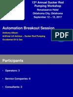 2017 Automation Breakout