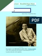 Ernesto Cortazar - Bella Música de Piano
