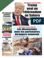 Journal Le Soir Dalgerie Du 15.12.2018