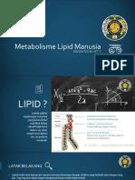 Metabolisme Lipid Manusia AET 3