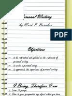 Slide Deck_Personal Writing