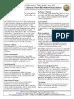 Para Pertussis Quick Sheet