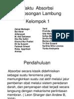 Waktu  Absorbsi Pengosongan Lambung Biofarmasetika.pptx