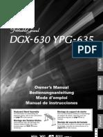 Yamaha Dgx 630 Mode d Emploi Fr 37563