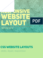 4Q SESSION 2 - CSS3 Responsive Website Layout