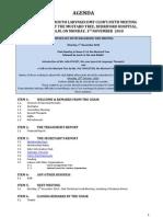 PLC 101101 Agenda