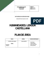 Plan de Área Lengua Castellana 123