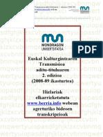 2008-09 Prentsa Korte Guztien Transkripzioak