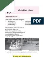 Pelajaran 10 Aktivitas Air