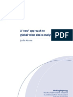 A 'new' approach to global value chain analysis