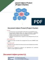 Document Iniţiere Proiect - Prezentare Si Exemplu