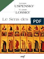 Ouspensky - Le Sens Des Icones