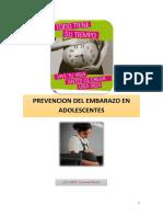 Prevencion de Embarazo en Adolescentes