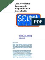 Errores Comunes en Ingles Google Docs