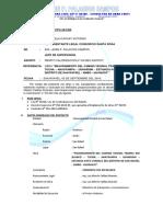 informe de valorización N° 010