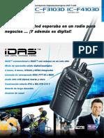 F3103DSpanish Brochure
