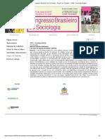 19º Congresso Brasileiro de Sociologia - Grupos de Trabalho - GT36 - Sociologia Digital