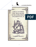 Lecciones de Higiene y Economía Doméstica