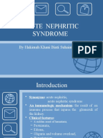 Seminar Acute Poststreptococcal Glomerulonephritis