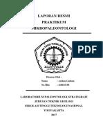 Laporan Resmi Praktikum Mikropaleontologi Ardi Fix