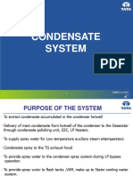 Condensate System