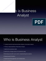 Business Analysis Fundamentals BACCM