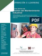 Gestion Mantenimiento Industrial
