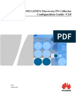 HUAWEI GENEX Discovery PS Collector Configuration Guide V2.0