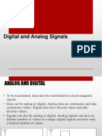 Digital and Analog Signals