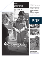 ACCC fall 2018 credit course guide