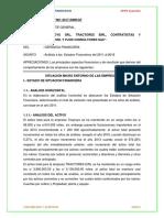 Informe Del Analisis de Empresa Ayacuchana