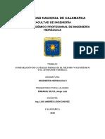 Aforador Parshall PDF