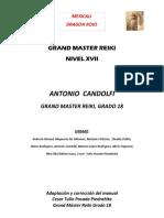 Manual Para La Sintonizacion de Grand Master Reiki Nivel Xvii-gmr Xvii, Diciembre 23