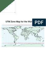 World UTM Map