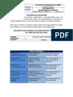 Actividad Evaluativa Módulo 4 - Entrenamiento deportivo