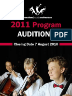 Qyo Audition Brochure