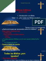 Biblia - Taller 01.02 ¿Son Todas Las Iglesia Llamadas Cristianas y Sus Biblias Iguales (Hno Rodolfo Andaur)