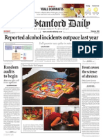 The Stanford Daily, Oct. 18, 2010