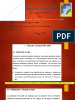 Capitulo II - Origen, Prevención y Control de Aguas Acidas de Minas