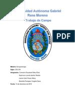 Investigación Del Inia Boliviensis