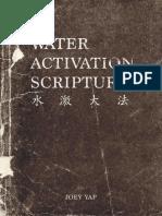 Water Activation Scripture
