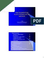 Equipos electronicos de medida