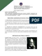 99.. Principios Administrativos - Lindal Urwick