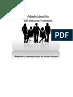 Administracion de los recursos humanos