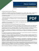 Plan de estudios ciencias genómicas UNAM