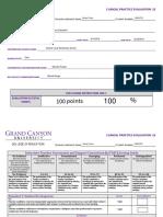 nicole fisher edu490 clinical evaluation 2