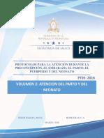 Volumen 2 Atencion Del Parto y El Rn