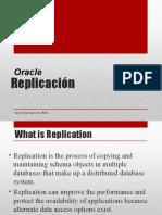 Replication Base datos  Oracle