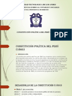 Constitución Política 1860