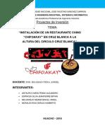 Proyectos de Inv.
